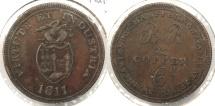 World Coins - GREAT BRITAIN: Swansea 1811 Halfpenny Token