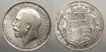 World Coins - GREAT BRITAIN: 1916 Halfcrown