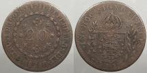 World Coins - BRAZIL: 1829-R 20 Reis