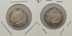 World Coins - BOLIVIA: 1865 'December Heroes' 1/16 Melgarejo