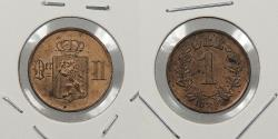 World Coins - NORWAY: 1893 Ore
