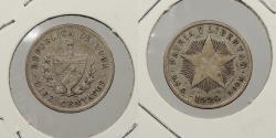 World Coins - CUBA: 1920 10 Centavos
