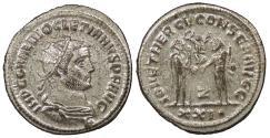 Ancient Coins - Diocletian 284-305 A.D. Antoninianus Antioch Mint Choice EF