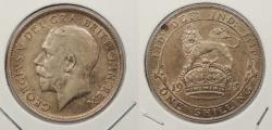 World Coins - GREAT BRITAIN: 1915 George V Shilling