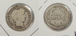 Us Coins - 1892 O Barber 10 Cents (Dime)