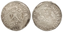 World Coins - GERMAN STATES Silesia-Liegnitz-Brieg (Now in Poland) Friedrich II 1488-1547 Groschen ND (Ca 1505) Good VF