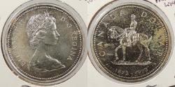 World Coins - CANADA: 1973 Mounted police. Proof-like. Dollar