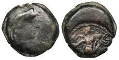Ancient Coins - Spain Patricia (Corduba) Anonymous c. Mid-2nd century B.C. Quadrans Fine