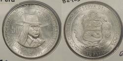 World Coins - PERU: 1971 50 Soles