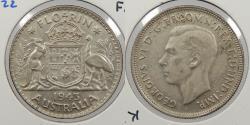 World Coins - AUSTRALIA: 1943 (m) Florin