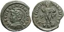 Ancient Coins - Constantine I 307-337 A.D. Follis London mint.