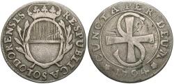 World Coins - SWISS CANTONS: Solothurn 1794 2 1/2 Batzen