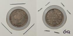 World Coins - CANADA: 1887 5 Cents