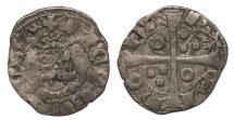 World Coins - SPAIN Catalonia (Catalunya)  Jaime II 1291-1327 Dinero (Diner)  VF