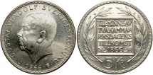 World Coins - SWEDEN: 1966 100th Anniversary of Constitution Reform 5 Kronor