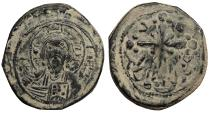Ancient Coins - Anonymous, Time of Nicephorus III 1078-1081 A.D. Follis Constantinople Mint Good VF