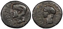 Ancient Coins - Thrace Abdera Nero 54-68 A.D. AE20 Near VF