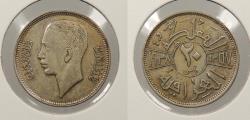 World Coins - IRAQ: 1938-I 20 Fils