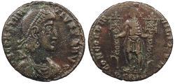 Ancient Coins - Constantius II 337-361 A.D. AE2 Sirmium Mint VF