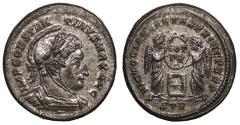 Ancient Coins - Constantine I, the Great 307-337 A.D. Follis Trier Mint EF