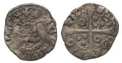 World Coins - SPAIN Catalonia (Catalunya) Jaime II 1291-1327 Dinero (Diner) VF
