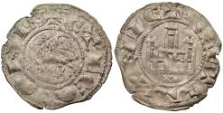 World Coins - SPAIN Fernando (Ferdinand) IV 1295-1312 Pepion (Dinero) EF
