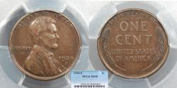 Us Coins - 1924-S Lincoln 1 Cent PCGS EF-45
