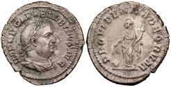 Ancient Coins - Balbinus 238 A.D. Denarius Rome Mint EF