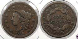 Us Coins - 1838 Coronet 1 Cent