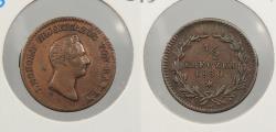 World Coins - GERMAN STATES: Baden 1830 1/2 Kreuzer