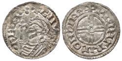 World Coins - ENGLAND Cnut 1016-1035 Penny 1029-1035 Choice EF