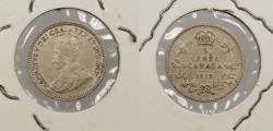 World Coins - CANADA: 1912 Edward VII 5 Cents