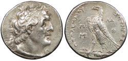 Ancient Coins - Ptolemaic Kings of Egypt Ptolemy II Philadelphos 285-246 B.C. Tetradrachm VF