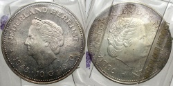 World Coins - NETHERLANDS: 1970 10 Gulden