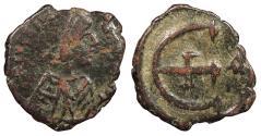 Ancient Coins - Justinian I 527-565 A.D. Pentanummium Constantinople Mint Fine