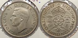 World Coins - GREAT BRITAIN: 1944 George VI Florin