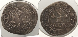 World Coins - GERMAN STATES: Worms 1620s Albus