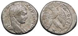 Ancient Coins - Syria Seleukis and Pieria Antioch Elagabalus 218-222 A.D. Tetradrachm Antioch Mint VF