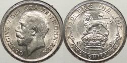 World Coins - GREAT BRITAIN: 1916 Shilling