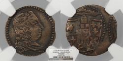World Coins - ITALIAN STATES Modena Francesco III D 'Este ND (1737-1780) Sesino NGC VF-35