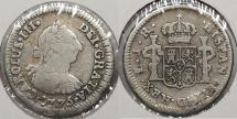 World Coins - BOLIVIA: 1775-PTS JR 1/2 Real