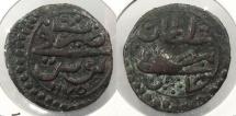 World Coins - TUNISIA: AH 1175 (1761-1762) Mustafa (1757-1775) Burbe
