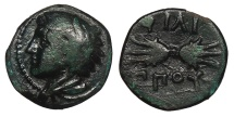 Ancient Coins - Kings of Macedon Philip II 359-336 BC 1/4 Unit Near VF