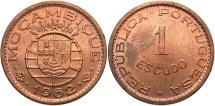World Coins - MOZAMBIQUE: 1962 1 Escudo