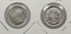 World Coins - CANADA: 1918 George V 5 Cents