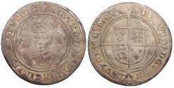 World Coins - ENGLAND Edward VI 1547-1553 Shilling 1551-1553 VF