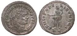 Ancient Coins - Maximianus 286-305 AD Follis Cyzicus Mint EF