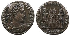 Ancient Coins - Constantine I, the Great 307-337 A.D. AE3 Heraclea Mint Good VF