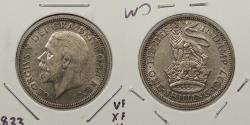World Coins - GREAT BRITAIN: 1927 George V Shilling