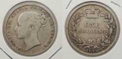 World Coins - GREAT BRITAIN: 1878 Victoria. Shilling